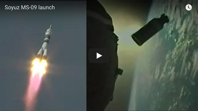 Запуск Союз МС 09