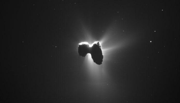 Комета 67P/Чурюмова — Герасименко Rosetta