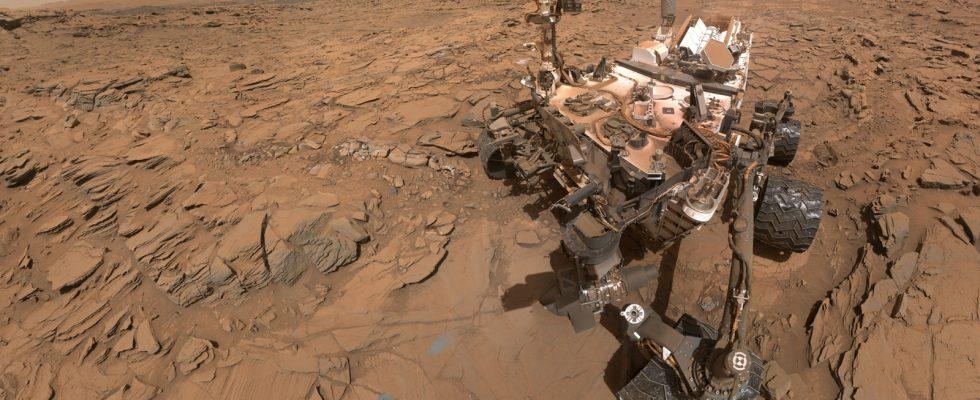 NASA Curiosity селфи