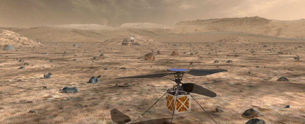Марсианский вертолет NASA