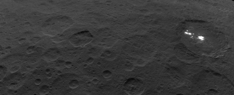 области кратера Оккатор