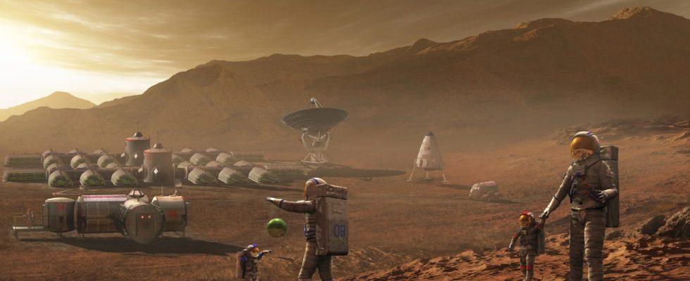 Будущий Марс