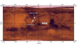 Место посадки ExoMars