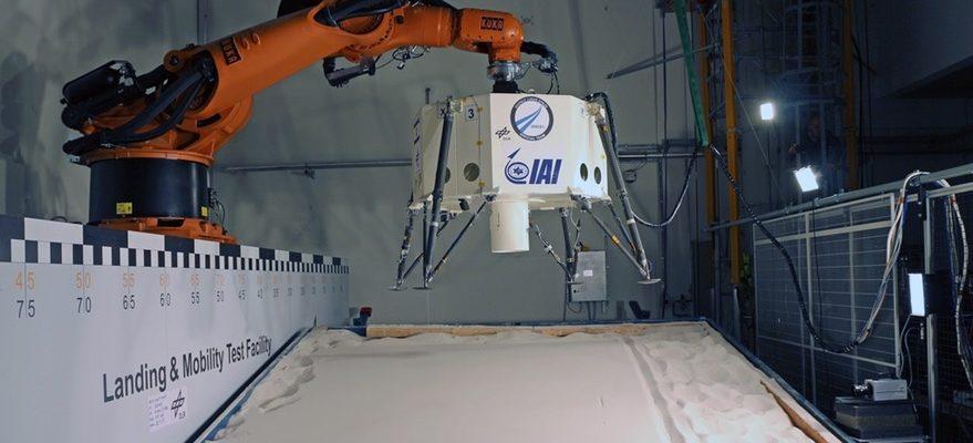 Посадочный модуль от SpaceIL