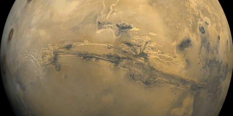 Изображение Марса с Viking