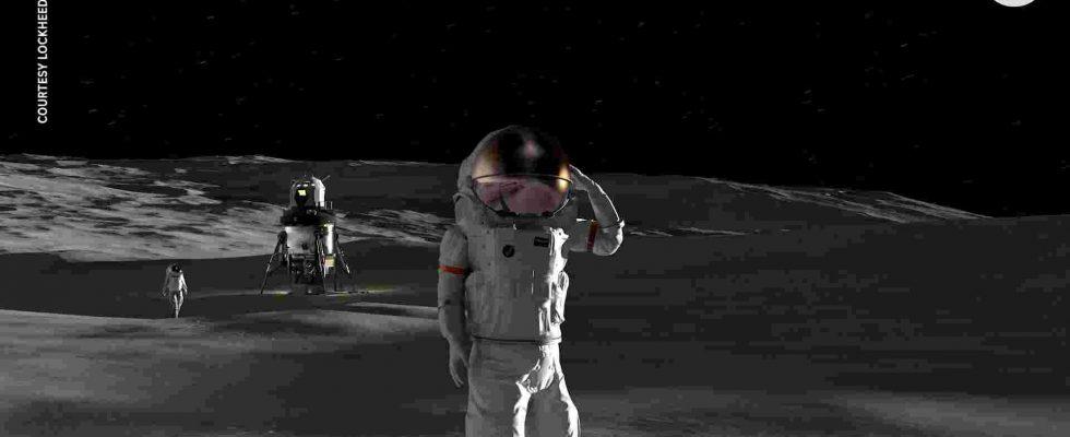 Lockheed Martin лунный аппарат