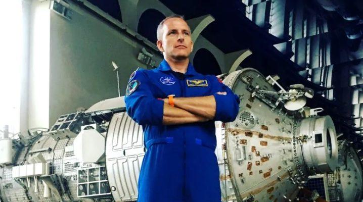 Канадский астронавт Давид Сен-Жак