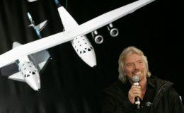 Virgin Galactic Ричард Брэнсон