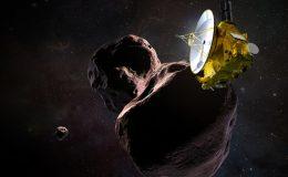 пролёт New Horizons мимо астероида Ultima Thule.