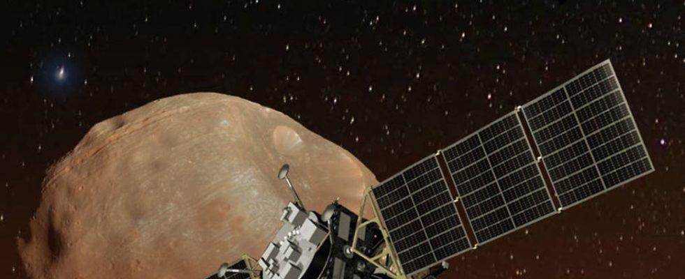 Аппарат Mars Moons Exploration