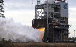 Испытания двигателя RS-25