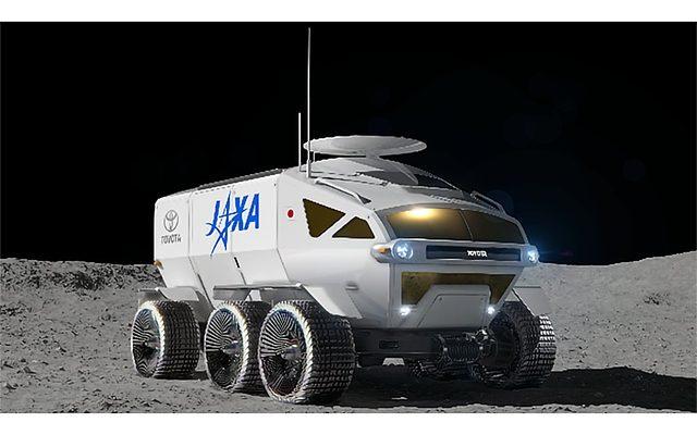 Лунный автомобиль Toyota и JAXA