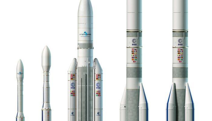 Vega Vega-C Ariane 5 Ariane 6