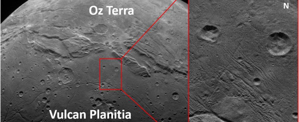 кратеры Плутона
