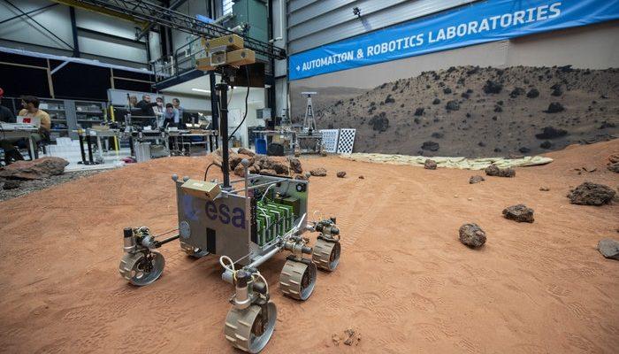 Марсоход ExoTeR ESA