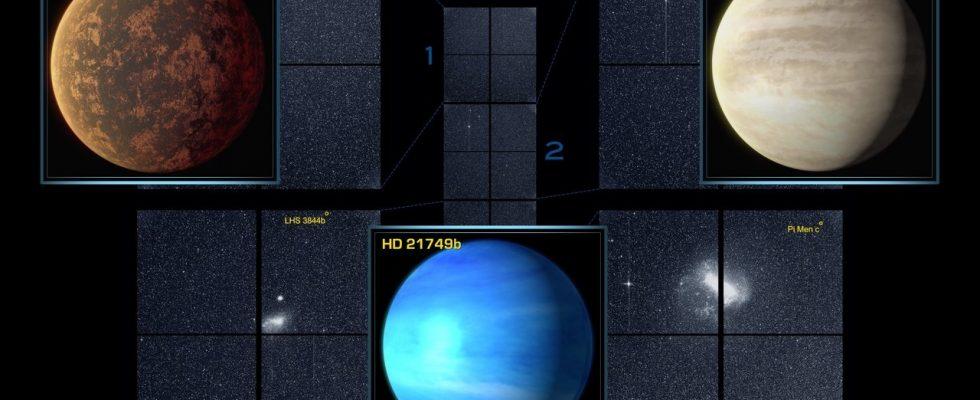 TESS экзопланеты