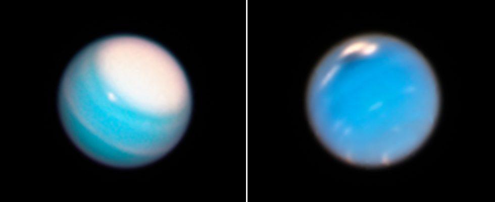 Уран и Нептун Voyager 2
