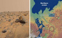 Найдены свидетельства существования древнего моря в районе посадки миссии Mars Pathfinder