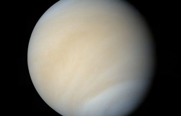 Венера покрыта густой атмосферой из углекислого газа