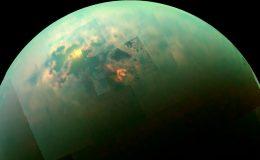 Изображение Титана в близком инфракрасном свете