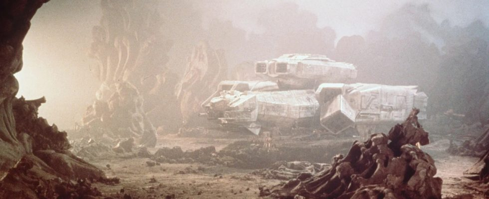 Кадр из фильма Alien (1979).