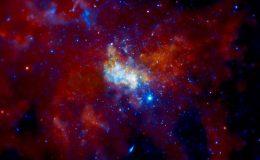 Изображение Sagittarius A* в центре Млечного Пути