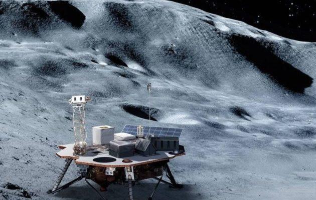 Лунный посадочный модуль