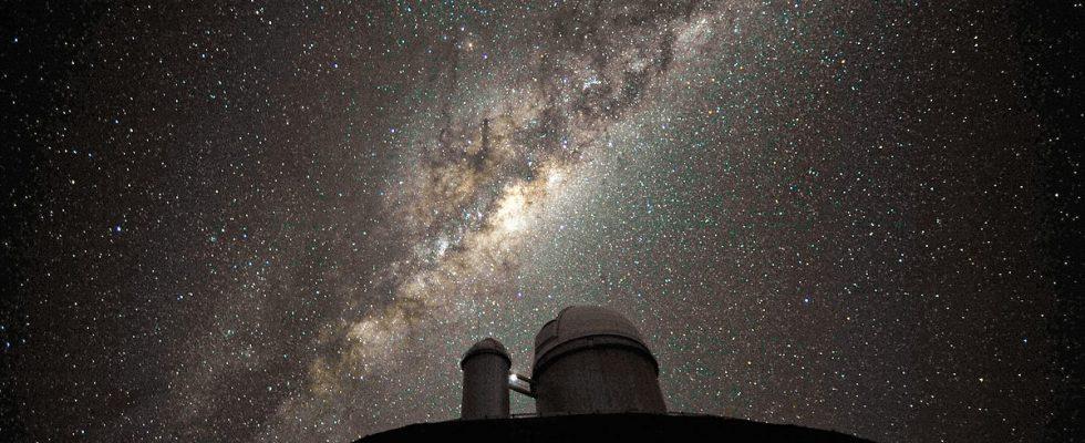Млечный путь ночью
