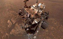 Селфи марсохода Curiosity