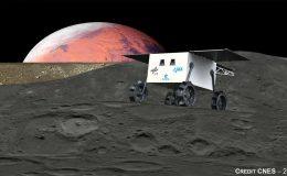 Концепт планетохода японской миссии MMX