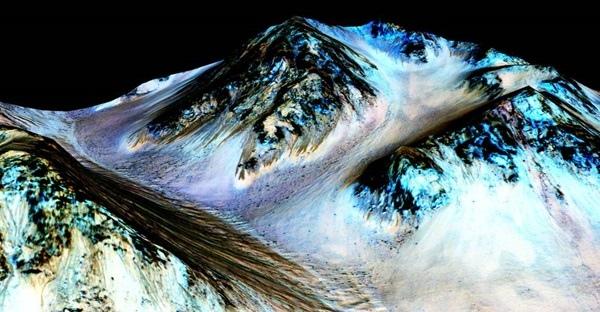 Русла рек на Марсе