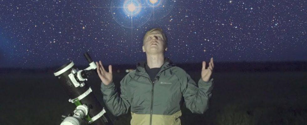 Астрономия для начинающих: Наблюдаем двойные и кратные звезды