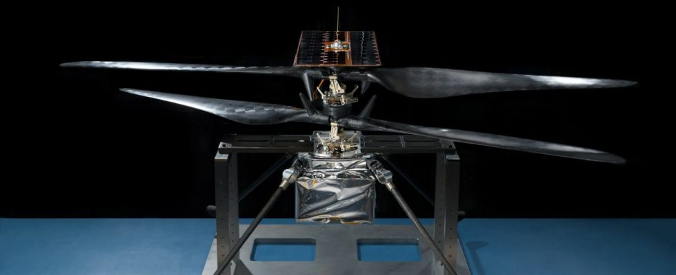 Mars Helicopter Scout (MHS)