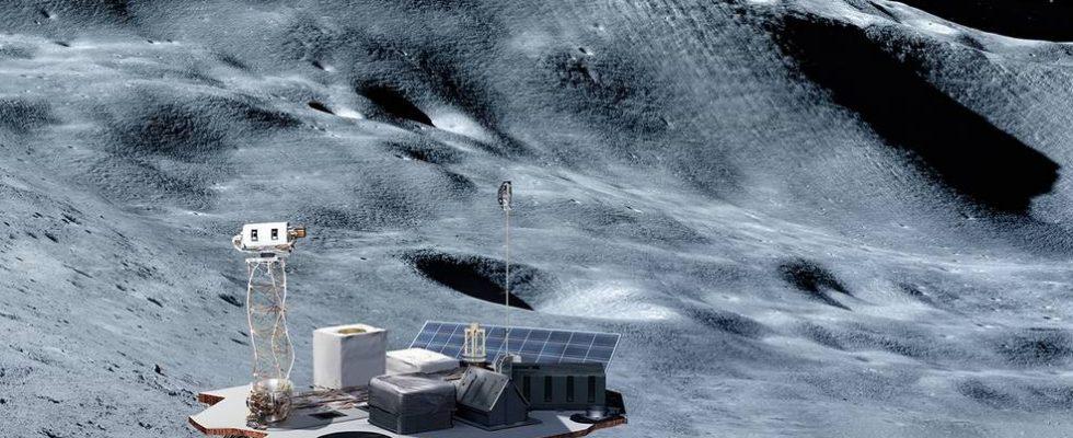 Аппарат на Луне