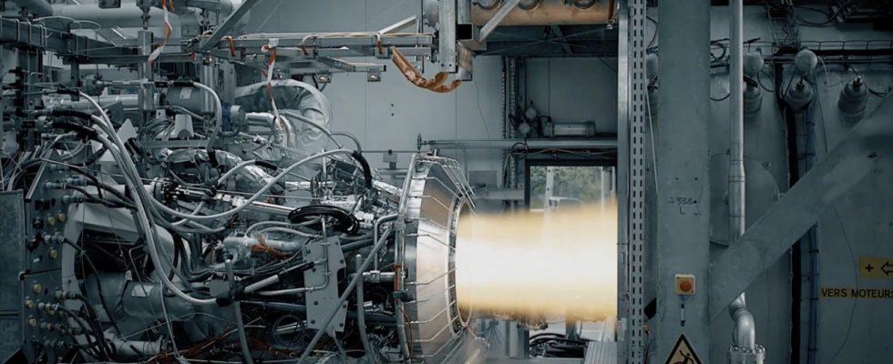Испытания двигателя Vinci