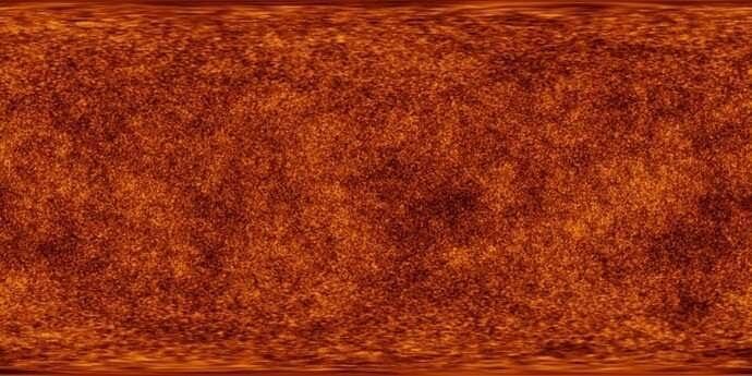 Наиболее точный цвет ранней Вселенной. Planck/IPAC