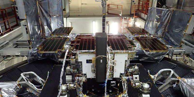 Марсоход на испытаниях в Airbus.
