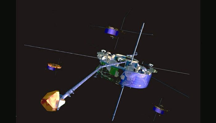 Космические аппараты Cluster.