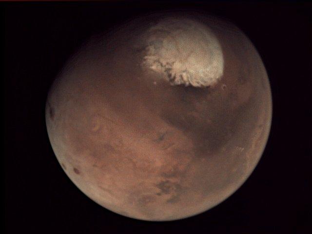 Фото Марса от VMC