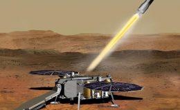 Иллюстрация запуска MAV с платформы SRL.
