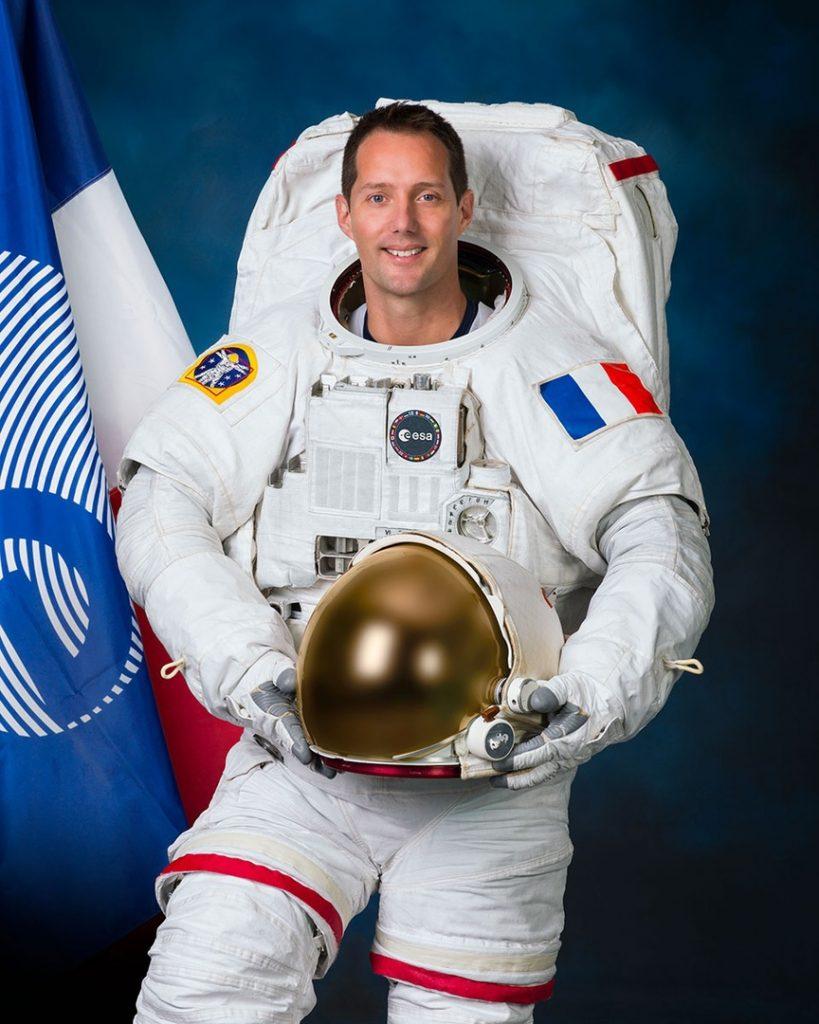 Астронавт Тома Песке (Thomas Pesquet). ESA