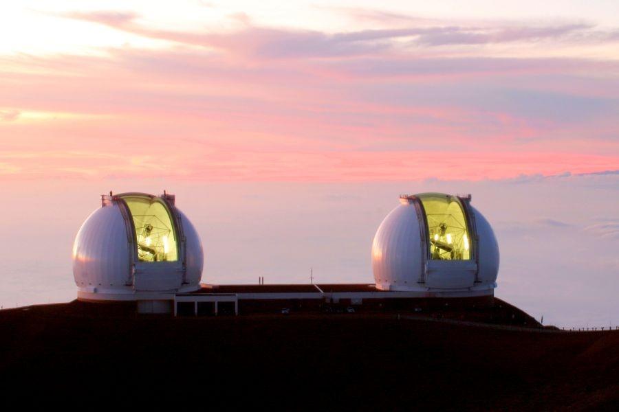 Телескопы обсерватории Кека
