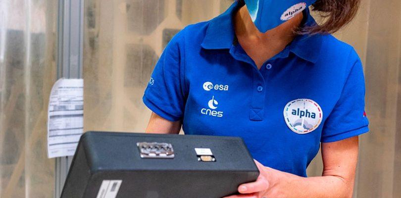 Макет дозиметра из оптоволокна. CNES/DE PRADA Thierry