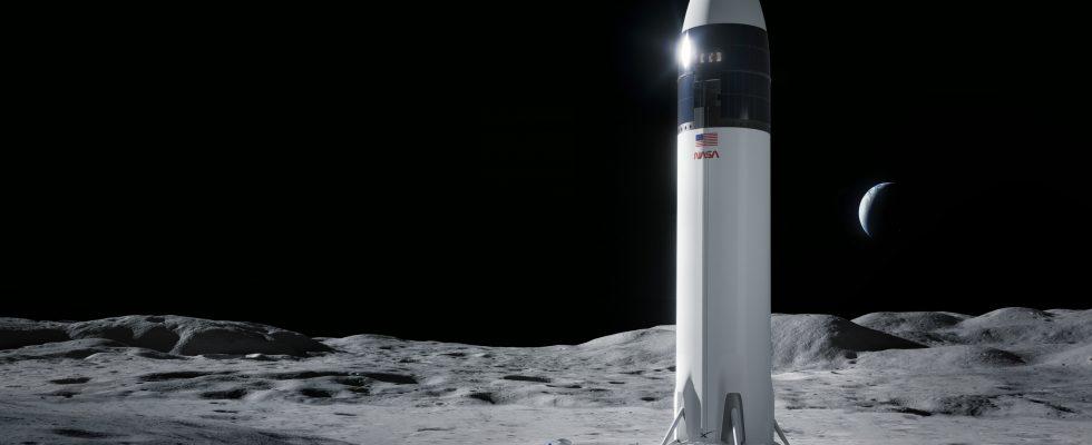 Лунный Starship